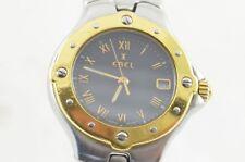 EBEL 1911 DAMEN UHR STAHL/750 GOLD 28MM SPORTWAVE TOP ZUSTAND 6087621