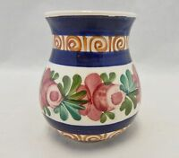 Austria Pottery Tiroler Majolika Small Painted Vase