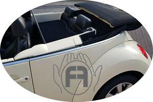 VW New Beetle 2002-12 - Windschott-schwarz *****Premium Qualität***** Made in EU