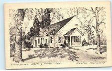 Third Haven Meeting House Easton Maryland Vintage Postcard D82