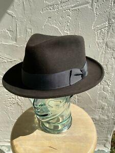 Royal Stetson Fur Felt Fedora Mercury 7 5/8 (61) hat
