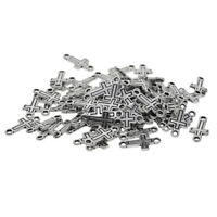 50pcs Alloy Links Cross Connector for Jewelry Making Bracelets Necklaces DIY