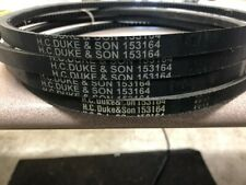 New Electro Freeze Belt Part # 153161 #HC153164 HC Duke & Son V-belts