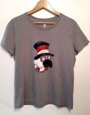 SB Active Patriotic Uncle Sam short sleeve cotton shirt womens size L