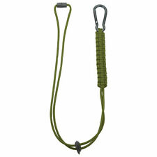 Mil-Tec Paracord Lanyard For Keys Cup Compass Bushcraft Survival Tactical Olive