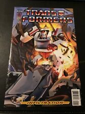 IDW Transformers Infiltration Issue 1 (Comic Issue - Jan 2006)