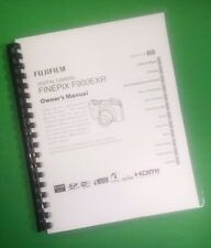 LASER PRINTED Fujifilm F900EXR Camera FinePix Instruction Manual 149 Pages
