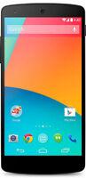 LG Nexus 5 D820 - 16GB - Black (Unlocked) Android OS Smartphone - N/O