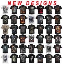 SPIRAL DIRECT Mens Rock/Biker/Steampunk/Reaper/Dragon/Skull/tshirt/Tee/Clothing