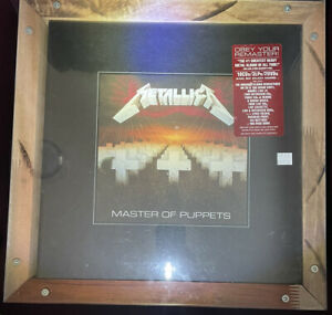Metallica Master of Puppets Super Deluxe Box Set Limited Boxed CD LP Vinyl DVD