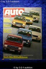 Auto Zeitung 17/73 Audi 100 LS Fiat 132 Ford Consul Opel Rekord 1900 VW K70 LS