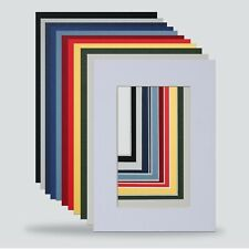 7x5 PHOTO FRAME MOUNTS FOR 5x3 INCH Pack Of 75 CHOICE COLOURS 5x7 FRAME FREE P&P