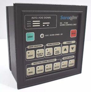 Saracom Horn Contrôleur Unité HC - 7122 Envoi Son Signal Application