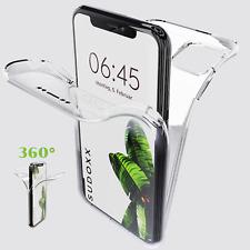 iPhone 11 /Pro /Max X XS XR 8 Plus Full Body Case 360 Hülle Cover Rundum Silikon