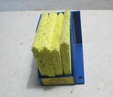 New Lerloy Soldering Iron Tip Cleaner Sponges and Holder