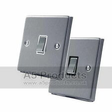1-Gang Switches Brushed Home Electrical