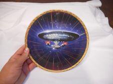 1994 Hamilton Collection Star Trek Voyagers USS Enterprise NCC-1701-D #1616F