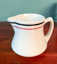 Vintage Striped Shenango Large Creamer / Pitcher