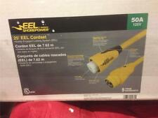 Marinco EEL 50A 125V SHORE POWER CORD 25' YELLOW/BRAND NEW!!!!!