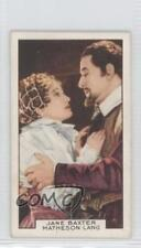 1935 Gallaher Film Partners Tobacco Base #1 Jane Baxter Matheson Lang Card 0a1