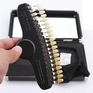 Dental Shade Guide 20-Color Shade Guide With Mirror Teeth Whitening Shade XC