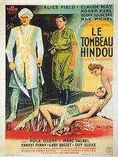 Affiche -  TOMBEAU HINDOU (le) - Ressortie 60x80cm