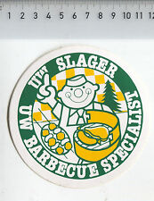 Decal/Sticker - Slager Barbecue Specialist