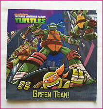 TMNT GREEN TEAM - Story BOOK - Full colour NEW - Teenage Mutant Ninja Turtles