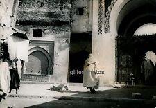 FEZ c. 1950 - Une Entrée de la Grande Mosquée - Maroc M71