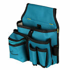 """7.9"""" Water-proof Canvas Tool Bag Hardware Utility Tools Pocket Pouch Belt Bag"""