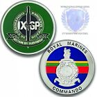 Royal Marines 30 Commando IX Group Silver Challenge Coin
