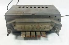 Vintage Automatic Radio AM Push Button Radio Model  # 4858