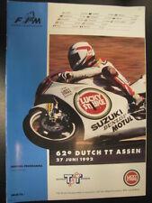 Officieel Programma Lucky Strike Dutch TT Assen 1992