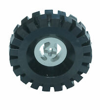 Missing Lego Brick 3482 & 3634 OldGray & Black Wheel Centre Large & Tyre 17 x 43