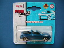 VOLKSWAGEN GTI CABRIO 1:60 NEU / MAISTO / MODELLAUTOS AUTOS