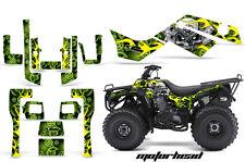 ATV Graphics Kit Quad Decal Sticker Wrap For Kawasaki Bayou 250 03-11 MOTOHD GRN