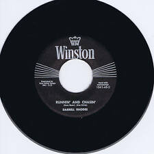 DARRELL RHODES - RUNNIN' & CHASIN' / CAN I BE THE ONE - KILLER ROCKABILLY REPRO