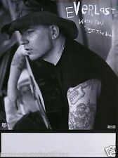 Everlast 1998 Whitey Ford Sings The Blues Original Promo Poster
