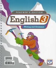 BJU English 3 Teacher's Edition with CD Second Edition - 3rd Grade