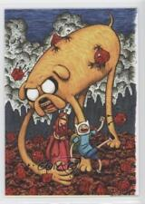 2014 Cryptozoic Adventure Time #02 The reawakened Lich returns… Card 2a1
