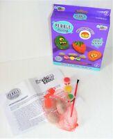 Childrens Pebble Painting Craft Kit Handy Starter Pack 3 Pebbles Paints /& Brush