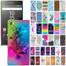 "For Sony Xperia Z5 Compact 4.6"" Various Design Protector Hard Back Case Cover"