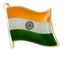 India Flag Pin Lapel Badge Indian High Quality Gloss Enamel