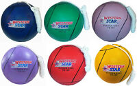 (2 Pcs Pack)Tether Ball Red, Purple, Blue, Green with Regulation Rope Attached