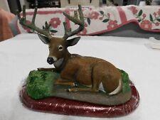 The Danbury Mint Summer Velvet Deer Sculpture Bob Travers New condition.