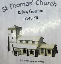 St. Thomas' Church Kit -- 1:148 / N Scale / Micro Scale