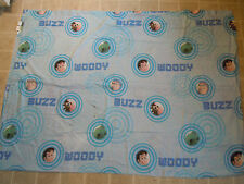TOY STORY Pixar Disney Twin BED SHEET Top/Flat Cartoon Movie Buzz Woody Circles