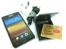 SAMSUNG GALAXY S II ii +2 Spare batteries & Genuine Charger EBH-1A2DGE bundle