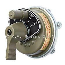 WWII ROTARY HEADLIGHT SWITCH MB GPW DODGE GMC G503