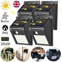 Solar Lights Outdoor 25LED Motion Sensor Security Lights Outdoor Wall Lamp 2Pack